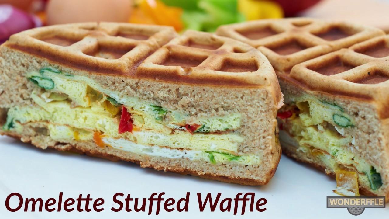 The Wonderffle Stuffed Waffle Iron video thumbnail