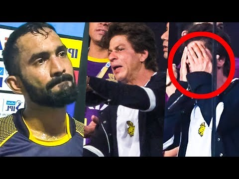 Dinesh Karthik Teaches a Lesson to SRK