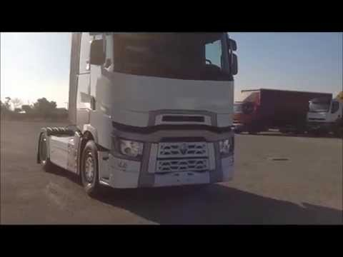 NEW RENAULT TRUCKS T 520 HIGH SLEEPER CAB INTERIOR & EXTERIOR - NUEVO RENAULT TRUCKS T 520