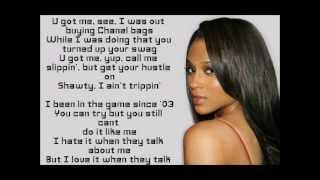 Ciara- Basic Instinct Lyrics