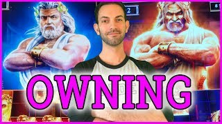💥⚡ OWNING Kronos & ZEUS for 20 Minutes🔥 ✦ Which is Better?? ✦ Slot Machine Fruit Machines w Brian