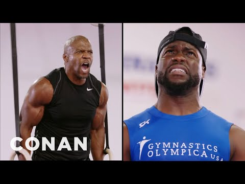 Terry Crews: Kevin Hart Tried To Play Mind Games With Me   CONAN on TBS