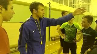 Видео урок по волейболу Горбунов А.С.