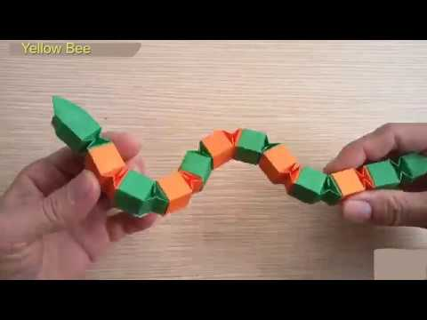 Origami Easy - Origami Snake Tutorial