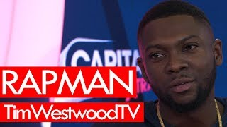 Rapman on meeting Jay-Z at his house, Roc Nation, plans for a big UK film! Westwood