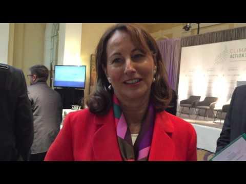 Climate Action Summit - Segolene Royal