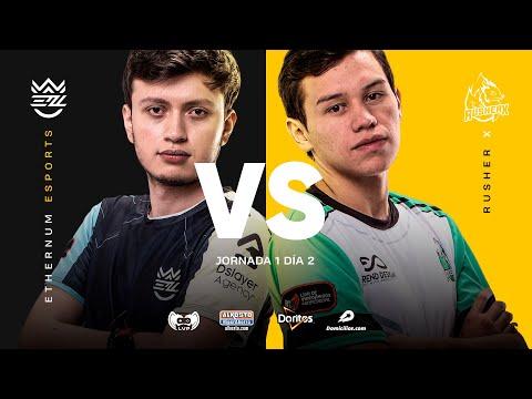 VOD: Ethernum vs RusherX - Golden League Opening 2020 - BO1