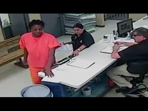 Full video of Sandra Bland being processed by Waller County jailers