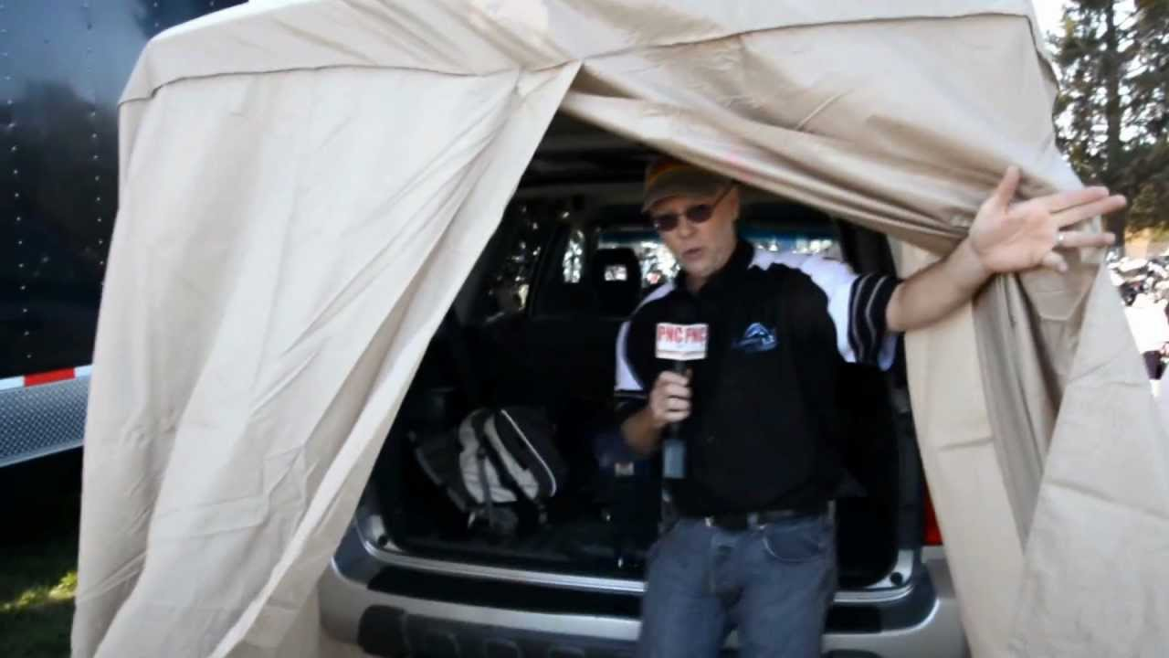 sc 1 st  YouTube & SUV Tent Tailgating Tent ADDaCabana - YouTube