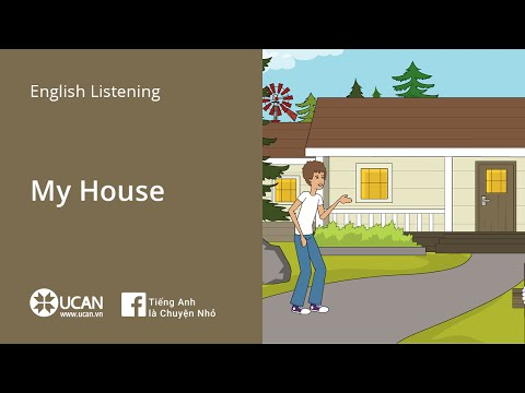Learn English Via Listening | Beginner: Lesson 5. My House