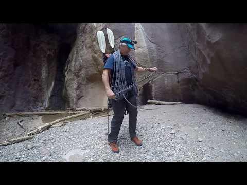 Canyoneering Packrafting Below Hoover Dam