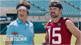 Uncle Rico and the legend of Gardner Minshew   NFL Countdown
