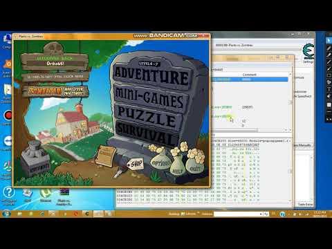hack thoi gian plants vs zombies bang cheat engine - Cách hack Plant vs Zombies bằng Cheat Engine (0 sun, bất tử, hồi nhanh, one kill)  Oriko65