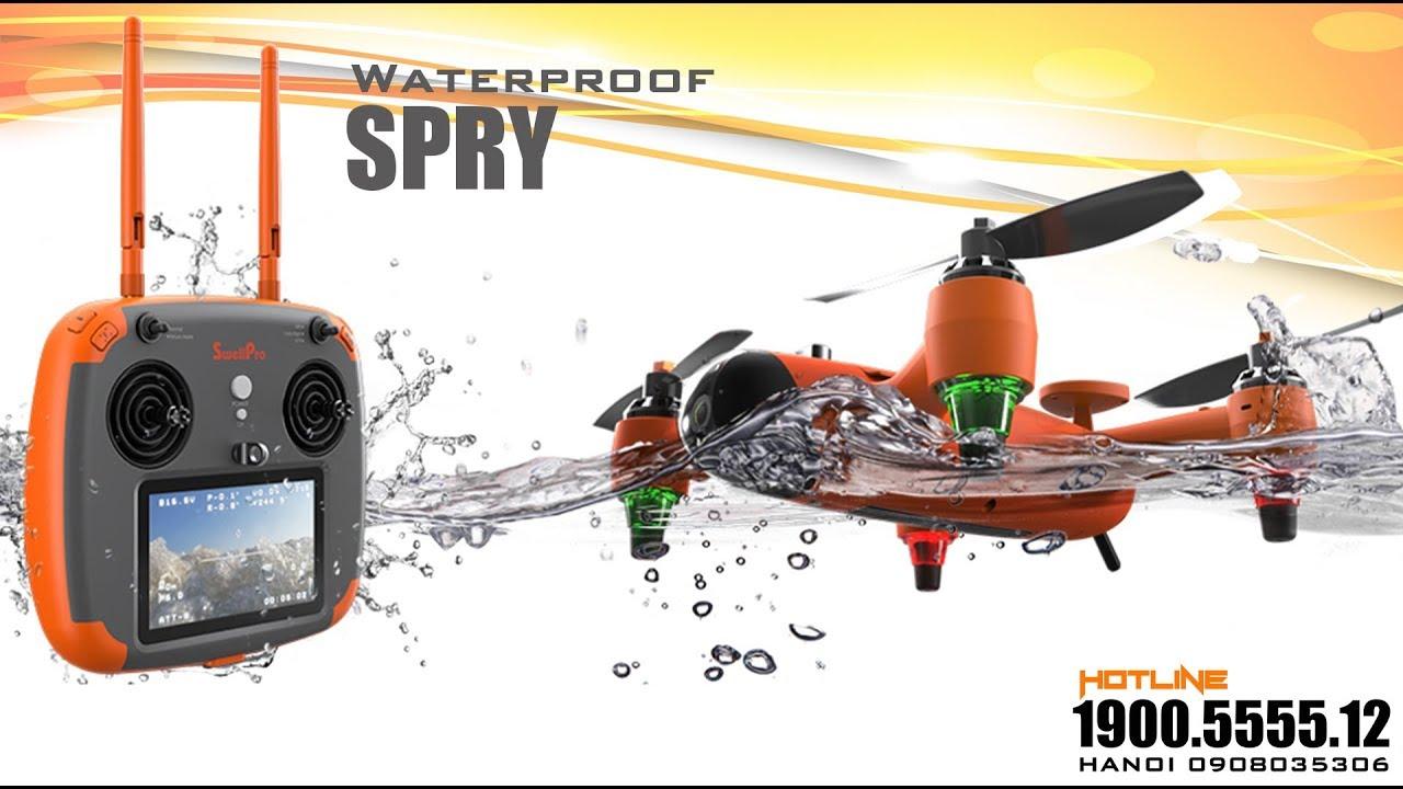 MỞ HỘP FLYCAM/DRONE SPRY CHỐNG NƯỚC GIÁ RẺ KHÔNG TƯỞNG | FLYCAMPRO