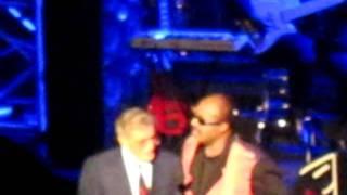 Stevie Wonder and Tony Bennett