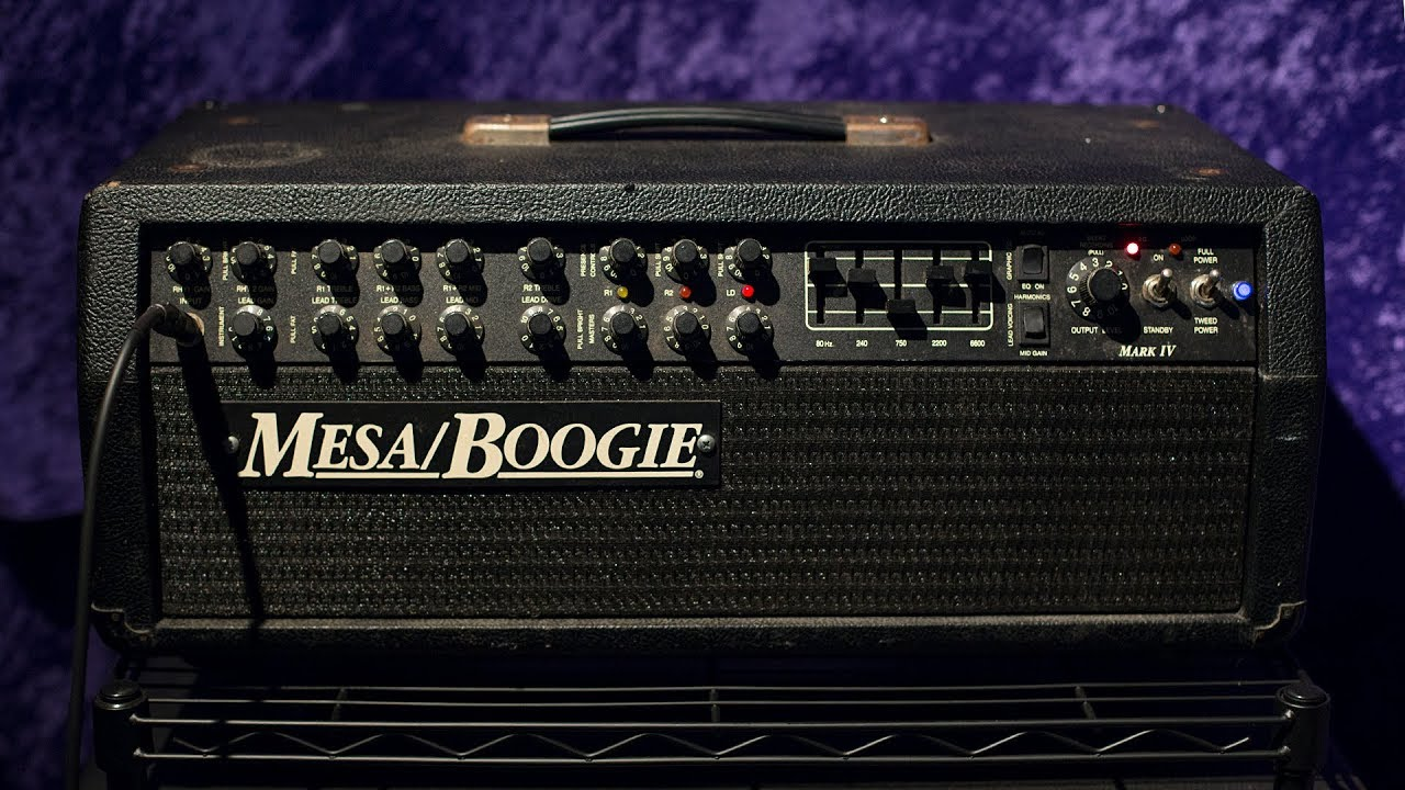 Image result for mesa boogie mark iv