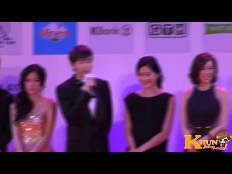 (fancam) 120719 Nichkhun speak Thai English Korea