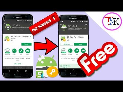sd maid pro unlocker apk free