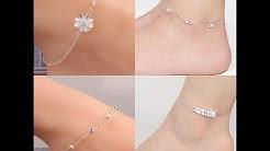 Top Beautiful Silver Anklets/Bracelet/Payal  For Women // Foot Jewellery/ Leg Chain