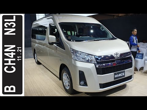 In Depth Tour Toyota HiAce [H300] #GIIAS 2019 - Indonesia