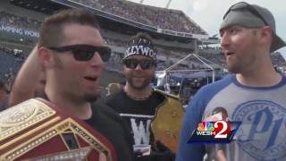 Wrestlemania 33 brings the smackdown to Camping World Stadium
