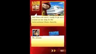 Alvin and the Chipmunks Chipwrecked Nintendo DS walkthrough part 1/19