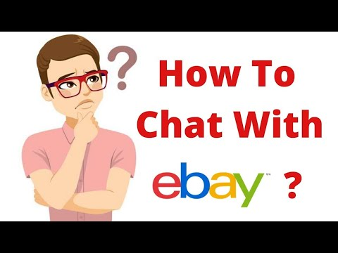 Live Chat With Ebay  Easy & Better *SOLVED* 2020
