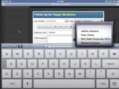 FileMaker iOS Demo Solution: Sales Beaver Lite