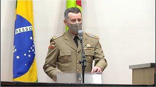 Comandante geral da PM fala sobre Semana Nacional de Trânsito