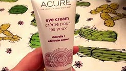 Acure Organics Eye Cream Chlorella + Edelweiss Stem Cell REVIEW