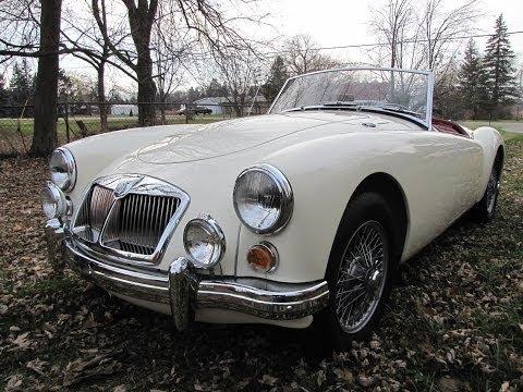 1962 MGA 1600 Mk. II for sale auto appraisal Grand Rapids Michigan, $29,500, 800-301-3886