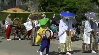 滝宮の念仏踊② 2012.8.25.MTS