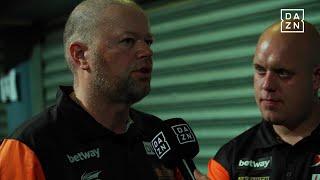 DAZN: MvG und Barney entspannt vor Deutschland beim Darts World Cup 2018
