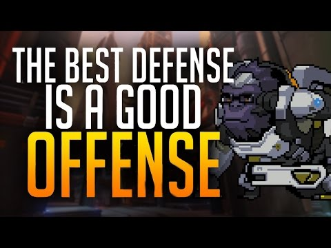THE BEST DEFENSE IS A GOOD OFFENSE - gibraltar top 500 winston gameplay