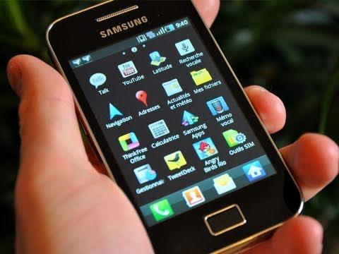 Test du Samsung Galaxy Ace - par Test-Mobile.fr
