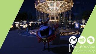 Phantasialand Wintertraum in Planet Coaster // Nachbau/ Recreation