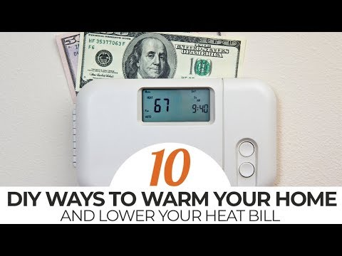 18 Tips to reduce Your Heating Bill