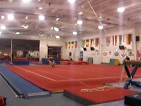 1st Class Gymnastics Acrobatics - Dynamic routine - YouTube