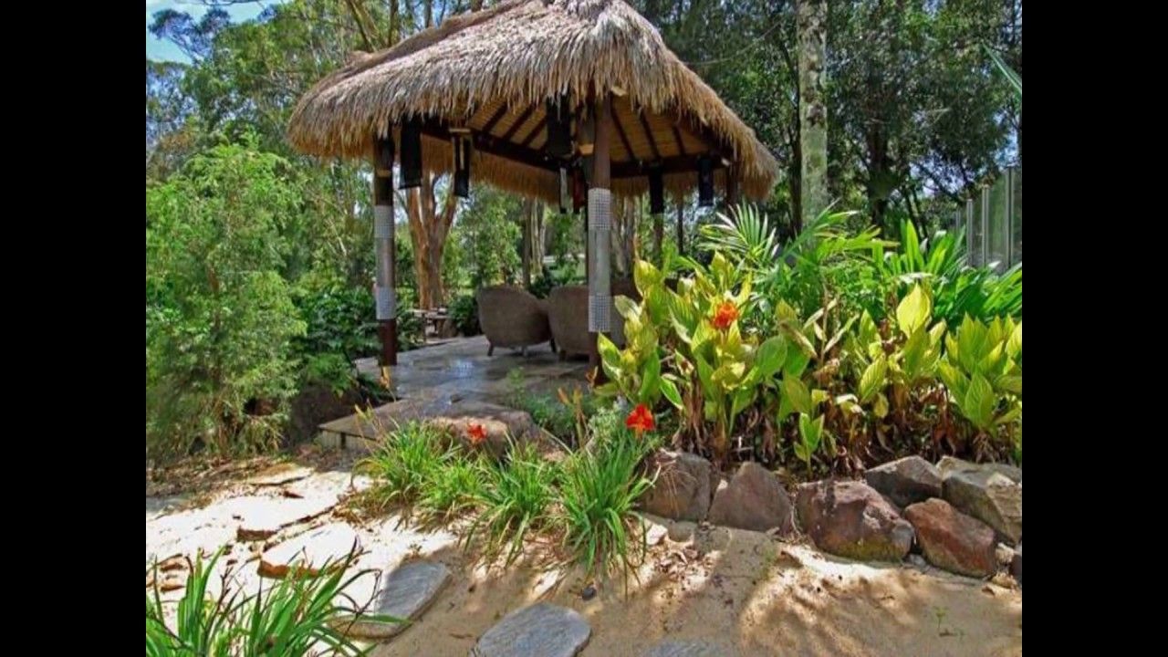 Tropical garden design i best tropical garden design youtube for Tropical garden design
