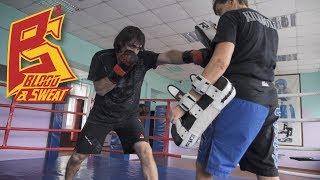 Как поставить удар после отдыха. Путь к чемпионату мира по кикбосингу. Эльмар Гусейнов Техника бокса