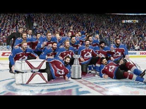 NHL 18 - Colorado Avalanche Stanley Cup Celebration