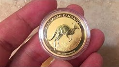 2017 1oz Australian Gold Kangaroo