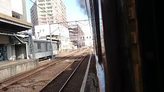 SLぐんまよこかわ号 高崎発車 汽笛D51 498