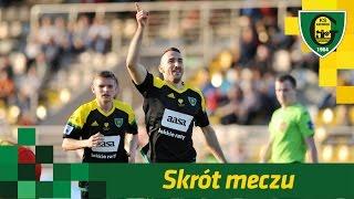 Skrót meczu Znicz Pruszków - GKS Katowice (4 04 2017)