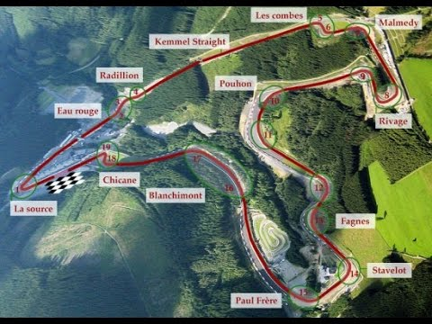 Max Verstappen Track Guide BELGIUM