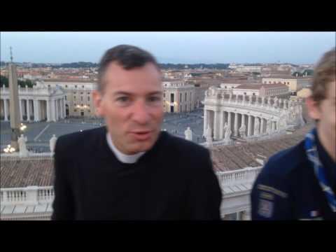 Pèlerinage à Rome - Troupe 19è marine Versailles