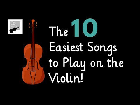Easy Violin Songs🎻  the 10 Easiest Songs to Play on the Violin