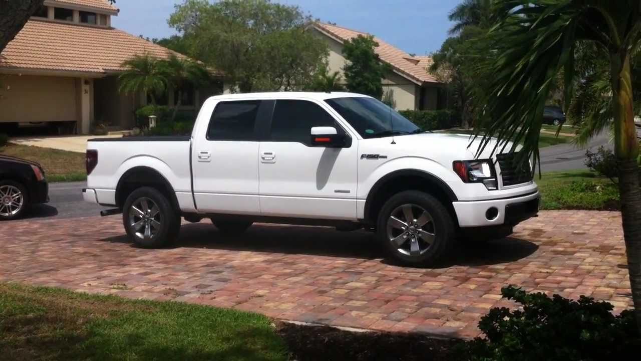 ford f150 ecoboost fx4 for sale oxford white twin turbo for sale v6 great condition youtube. Black Bedroom Furniture Sets. Home Design Ideas