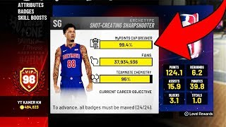 HITTING 99 OVERALL IN NBA 2K19 🏆