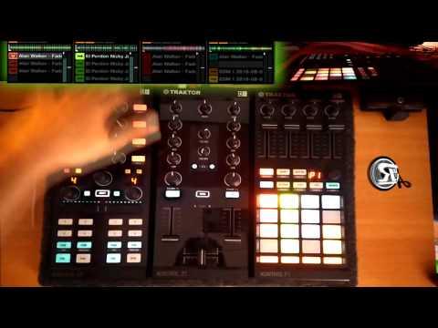 Nicky Jam vs Alan Walker - Faded vs El perdón with Tracktor F1 (A&R Mashup)